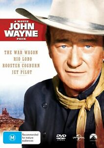John Wayne Four movie Collection Box Set DVD Region 4 NEW
