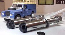 Land Rover Serie 2 A 3 Pantalla Parabrisas Boquilla de arandela de Acero Inoxidable Doble Jet x2