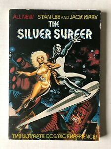 Silver Surfer Ultimate Cosmic Experience Stan Lee TPB/Graphic Novel Fireside