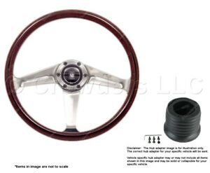 Nardi Classic 367mm Steering Wheel + Hub for Toyota 5049.36.3000+4350.98.501X