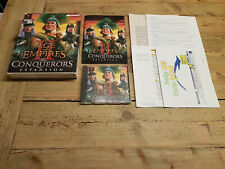Age of Empires: The conquerors expansion, Microsoft, PC Big Box, CD-ROM
