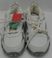 e7995b56bd7d Danskin Now Womens Athletic Walking Sneakers Shoe Leather Mesh White Sz 6.5  NWT