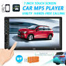 """7"""" Double 2 DIN Head Unit Car Stereo MP5 Player Touch Screen Bluetooth Radio USB"""