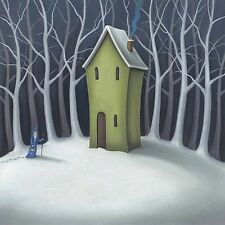 PAUL HORTON WASHINGTON GREEN ART SQUARE CARD: THE HIDEAWAY - NEW POST DAILY