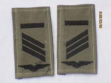 insignes de grade la BW : CAPORAL, entre autres, Armée l'air, noir / olive,