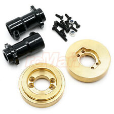 Xtra Speed Alu. Rear Lockout w/Brass Control Weight Axial SCX10 II #XS-SCX230087