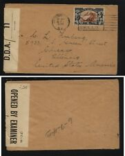 New  Zealand  nice censor cover   to  US           MS0715