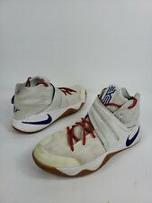 Nike Kyrie Irving 2 iD Men's Shoes Size 12 Blue Gray Basketball  843253-998