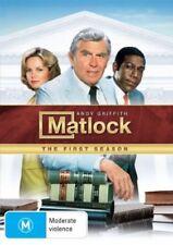 Matlock : Season 1 (DVD, 2008, 7-Disc Set) LIKE NEW. !! FREE POST