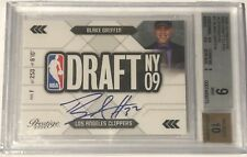 2009-10 Panini Prestige NBA DRAFT CLASS Blake Griffin RC Signature Auto BGS9 #1