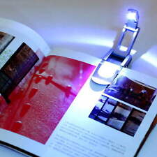 Bright clip on LED Book Light reading Booklight lamp bulb For Kindle DEJV