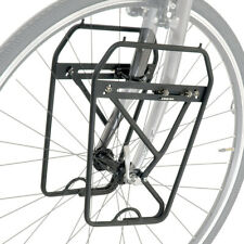 Axiom Journey DLX Lowrider Front Touring Bike Pannier Rack Bag Carrier Black