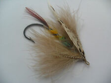 Grey Eagle Size 9/0 Fully Dressed Vintage Gut Eye Salmon Fly Date 1900-15