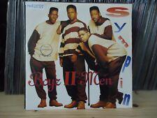 """7"""" Single Boyz II Men - Sympin' (Remix Radio Edit) / Sympin' (LP Version)"""