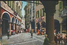Lugano Posted Single Collectable Swiss Postcards