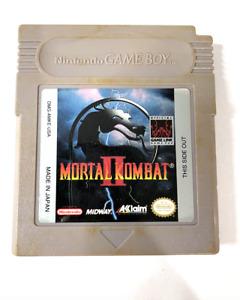 Mortal Kombat II 2 ORIGINAL NINTENDO GAMEBOY GAME Tested + Working & Authentic!