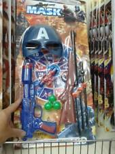 1 pistola fucile maschera  polizia militare kit gioco di qualità giocattolo toy