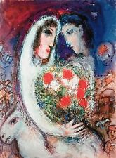 Marriage, Limited Edition Giclee, Marc Chagall
