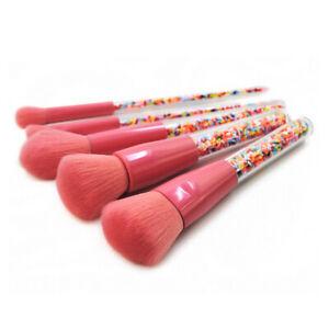 5pcs/Set Makeup Brushes Powder Foundation Eyeshadow Eyeliner Lip Brush Tool