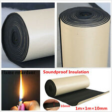1mx1m Roll Car Sound Proofing Deadening 10mm Insulation Closed Acoustic Foam Mat