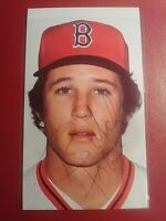 Butch Hobson Boston Red Sox 1980s Autograph Signed Photo