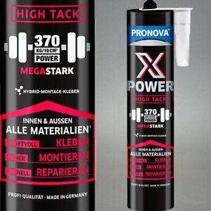Montagekleber Bau Kleber High Tack Alleskleber ultrastark 370kg/10cm² Naturstein