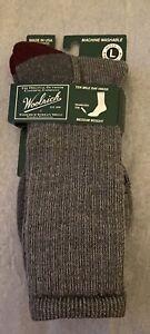 Brand New Men's Woolrich Ten Mile Day Hiker Socks Sz 9-12 $18 Medium Weight
