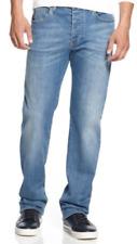 Armani Jeans Men's Straight-Fit Jeans, Light Wash ,0MJ72/2J,Size 30X30,MSRP $125