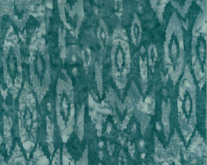 """Rayon Batik Smoke Gray Southwest 44"""" Hand-Dyed Bali Batik Fabric by Yard D176.18"""