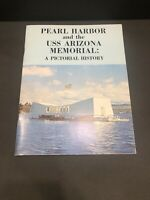 Vintage Pearl Harbor and the USS Arizona Memorial A Pictorial History Book 1977