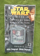 Star Wars Episode III Daily Telegraph 2005 Collector Pin C3po - Post