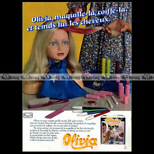 OLIVIA Raynal Poupée Doll Bambola 1979 : Pub Publicité Advert Ad #A1380