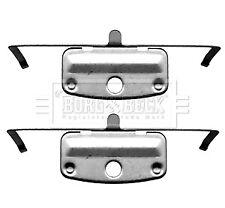 Brake Pad Fitting Kit fits BMW 330 Front 3.0 3.0D 06 to 13 B&B 34116757253 New