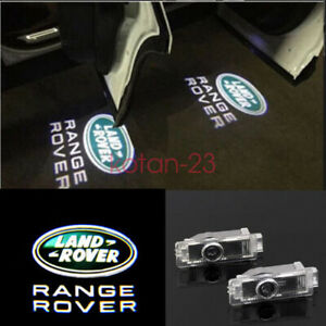 2X Welcome Courtesy LED Door Lights Projector Logo HD For Range Rover Land Rover