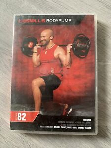 Les Mills BodyPump Release 82 Workout Kit. CD/DVD With Choreography Notes