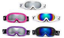 Winter Ski Goggles Women Teen Junior Cloud 9 Anti Fog Dual Lens UV Protection
