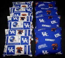 8 Cornhole Bean Einkaufstaschen W UK Universität Von Kentucky Wildcats Stoff
