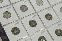 20x Lot of 2000 P - Canadian Nickel 5 Cents - Low Mintage - Circulated