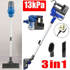 More details for 3in1 13kpa bagless vacuum cleaner lightweight upright stick handheld hoover vac