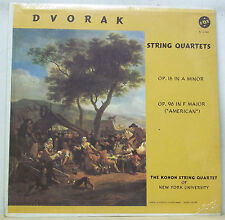 Kohon String Quartet DVORAK Quartets Op.16 & 96 - Vox PL 16.360 SEALED