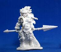 1 x VANJA GEANT FEU - BONES REAPER figurine miniature rpg giant fire queen 77100