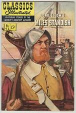 Classics Illustrated #92 February 1952 Vg Miles Standish