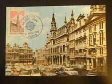 FRANCE PREMIER JOUR FDC YVERT 1752    EUROPA  0,50  F  PARIS  1973