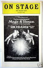 Richiardi Incredible World Of Magic & Illusion On Stage