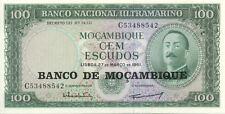 MOZAMBIQUE 100 ESC 1961 NEUF UNC
