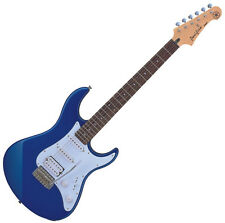 Yamaha PAC012 Pacifica HSS Solid Agathis Electric Guitar in Dark Blue Metal