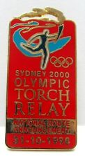 Sydney 2000 Olympic Games Badge Pin - Torch