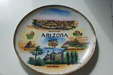Arizona State Gold Trimmed Plate L#1125