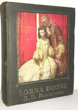 RARE 1930 LORNA DOONE R.D. BLACKMORE 1ST MEAD SCHAEFFER CLASSICS ROMANCE MURDER