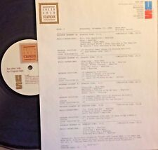 RADIO SHOW: 11/25/88 MEMPHIS SOUL RUFUS THOMAS, OTIS REDDING,AL GREEN,INTERVIEWS
